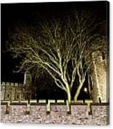 The Tower Of London At Night  Canvas Print
