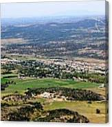 The Town Of Mancos Canvas Print