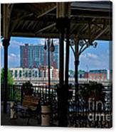 The Trainstation In Nashville Canvas Print