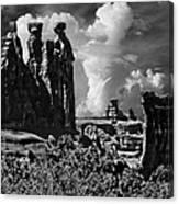 The Tribunal Arches National Park Canvas Print