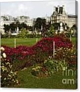 The Tuilleries Garden In Paris Canvas Print