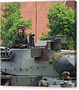 The Turret Of The Leopard 1a5 Main Canvas Print
