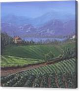 The Tuscanesque Valley Canvas Print