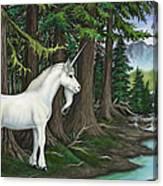 The Unicorn Myth Canvas Print