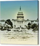 The United States Capital Building Canvas Print