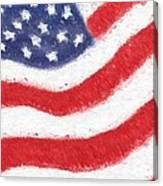 The United States Flag Canvas Print