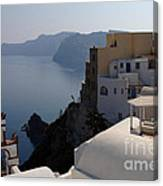 The View At Fira Canvas Print