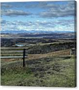 The View Point Canvas Print