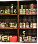 The Vintage Pantry At Vulcan Canvas Print
