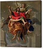 The Vision Of St. Paul Canvas Print