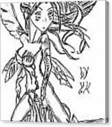 The Voluptuous Fairy  Canvas Print