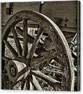 The Wagon Wheel Canvas Print