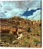The Waterpocket Fold Canvas Print