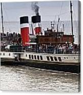 The Waverley Paddle Steamer Canvas Print