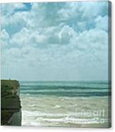The Waves Bellow Us Canvas Print