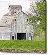 The Weathered Barn Canvas Print