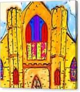The Wedding Chapel Canvas Print