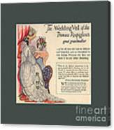 The Wedding Veil Of The Princess Rospigliosi's Great Grandmother Canvas Print