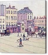 The Weigh House - Cumberland Market Canvas Print