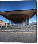 The Welsh Assembly Building 2 Canvas Print