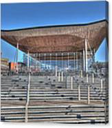 The Welsh Assembly Building Canvas Print