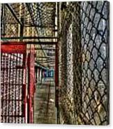 The West Virginia State Penitentiary Cell Hallway Canvas Print