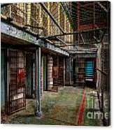 The West Virginia State Penitentiary Cells Canvas Print