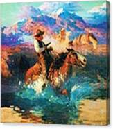 The Wild West Canvas Print