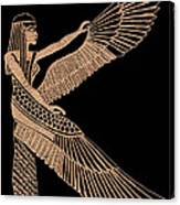 The Winged Isis Canvas Print