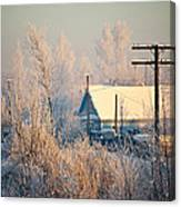 The Winter Country Canvas Print
