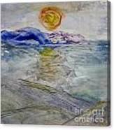 The Winter Sun Canvas Print