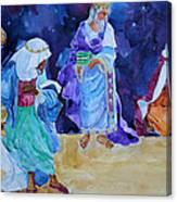 The Wisemen Canvas Print