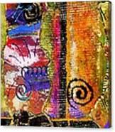 The Woven Stitch Cross Dance Canvas Print