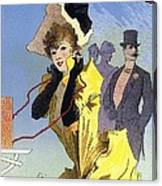 Theatrophone Poster Canvas Print