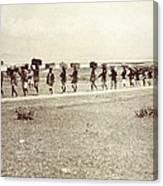Theodore Roosevelts 1910 African Safari Canvas Print