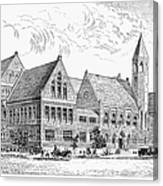 Theological Seminary, 1884 Canvas Print