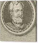 Theophrastus, Ancient Greek Polymath Canvas Print
