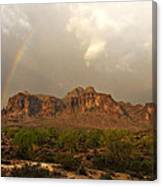 There's Gold At The End Of The Rainbow Canvas Print