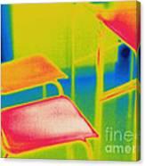 Thermal Shadow Canvas Print