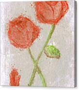 These Flowers Of Blood Canvas Print