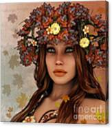 They Call Her Autumn Canvas Print