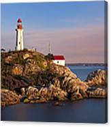 This Is British Columbia No.62 - Point Atkinson Lighthouse Point Canvas Print