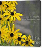 This Is The Day Canvas Print