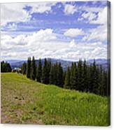 This Way To Eagle Nest - Vail Canvas Print
