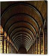 Thomas Burgh Library, Trinity College Canvas Print