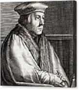 Thomas Cromwell, English Statesman Canvas Print