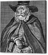 Thomas Hobson (1544-1631) Canvas Print