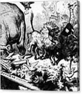 Thomas Nast Political Cartoon That Canvas Print