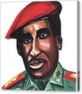 Thomas Sankara Canvas Print