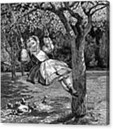 Thomas: The Swing, 1864 Canvas Print